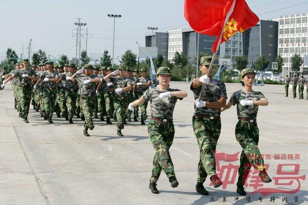 北京海关阅兵纪实