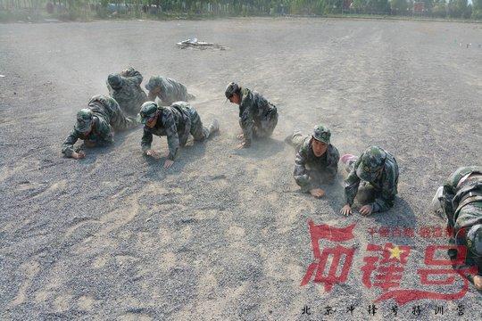 """北京企业军训:""""勇敢的心""""之团队挑战"""