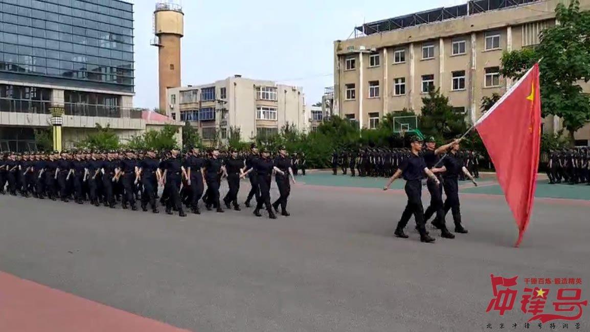 中国海关阅兵汇演