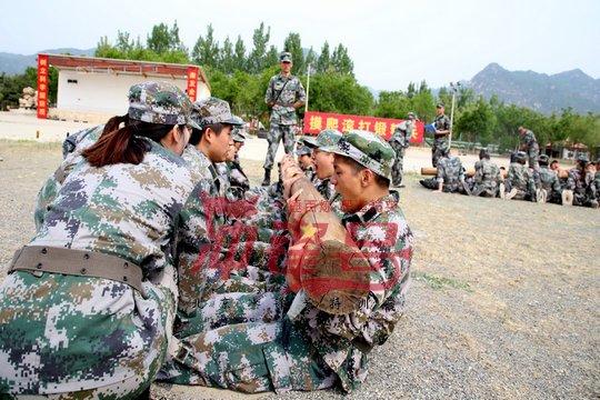 北京企业军训:发现团队之美